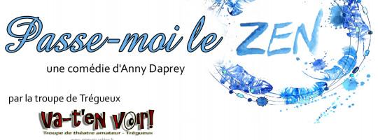 Va-t'en voir!  –  Trégueux  –  «Passe-moi le zen» d'Anny Daprey