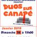 Les calamars endiablés  –  Pléneuf-Val-André  –  «Duos sur canapé»