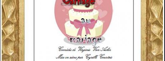 Ki'Ka'Farces  –  Brusvily  –  «carnage au mariage»