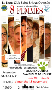 """Le théâtre d'Hector  -  """"Huit femmes"""""""