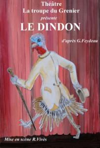 """La troupe du grenier  -  """"Le dindon"""""""