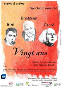 """Scène à scène  -  Plaintel  -  """"Vingt ans"""""""
