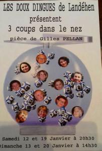"""Les doux-dingues  -  Landehen  -  """"3 coups dans le nez"""""""