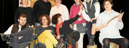 L'amuse d'Hilvern  –  St Caradec  –  «Le stage de survie»
