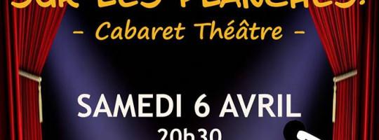 Rencontres théâtrales «Sur les planches» à Plaintel le samedi 6 avril