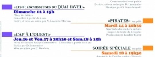 Festival de l'école de théâtre à La sirène  –  Paimpol
