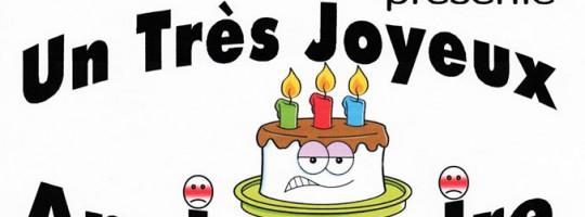 Mascarade  –  Lancieux  –  «Un très joyeux anniversaire»