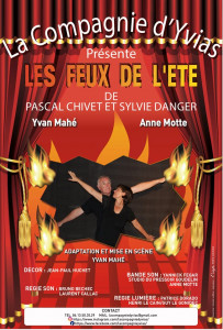 """La troupe théâtrale d'Yvias  -  """"Les feux de l'été"""""""