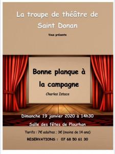 La troupe de St Donan à Plourhan